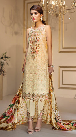 6b25d448d6 24% OFF Sold Out Anaya by Kiran Chaudhry Luxury Festive Collection 2018 –  Gilded Trellis ALF-10