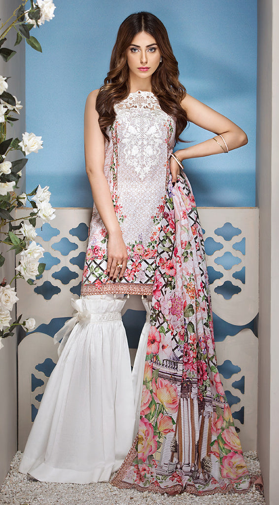 Anaya by Kiran Chaudhry Luxury Lawn 2018 – 11-Summer Love