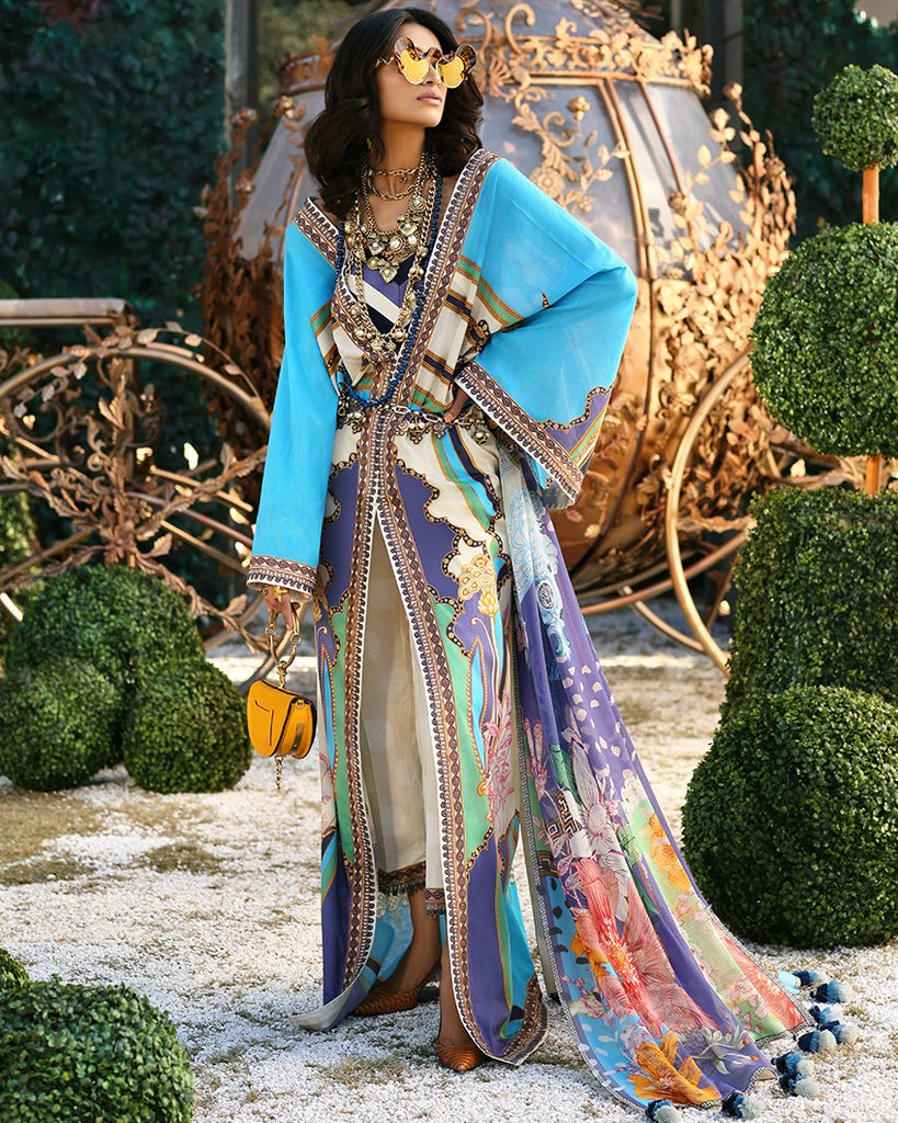 Zaha's Wonderland Spring/Summer Lawn Collection 2019 – 12B - Cyra
