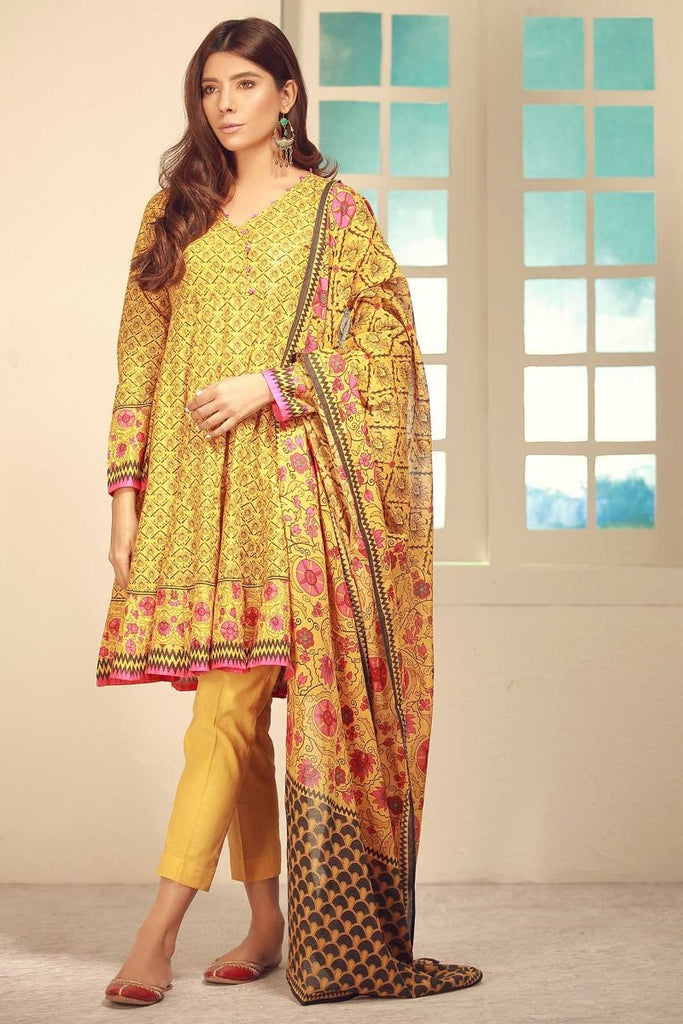Khaadi Winter Tales Vol-2 – CA17702-Mustard-3Pc