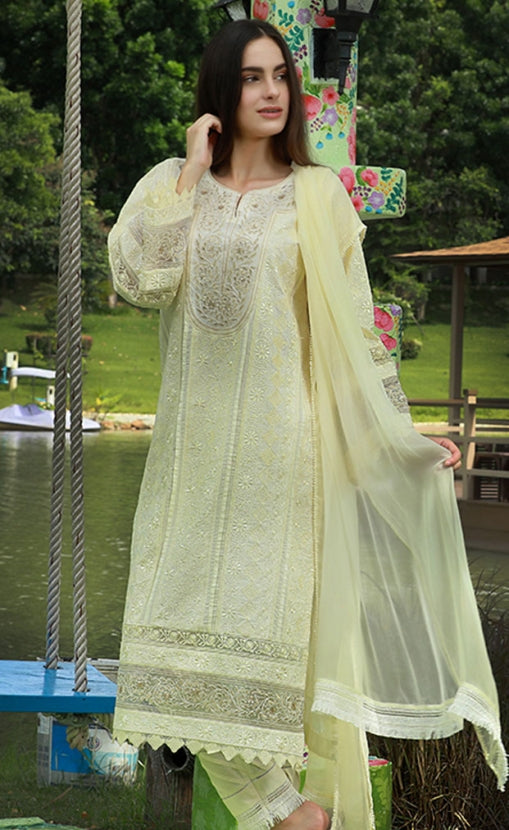 LSM Chikankari Couture Collection – CC-804