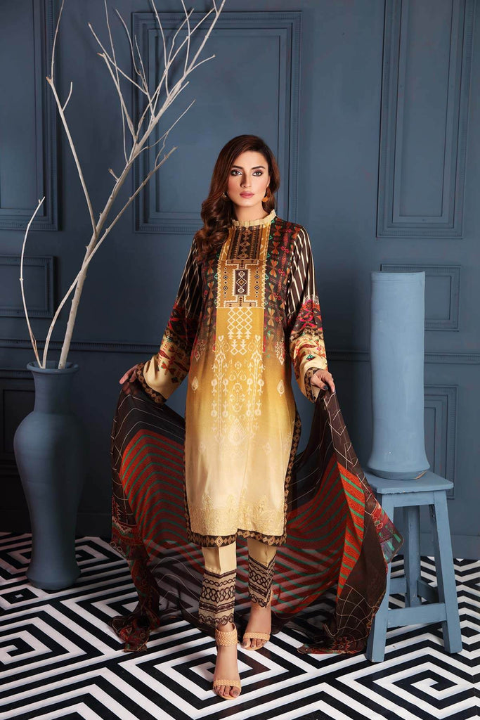 Charizma Combinations Embroidered Linen Collection – Essence CCW-02
