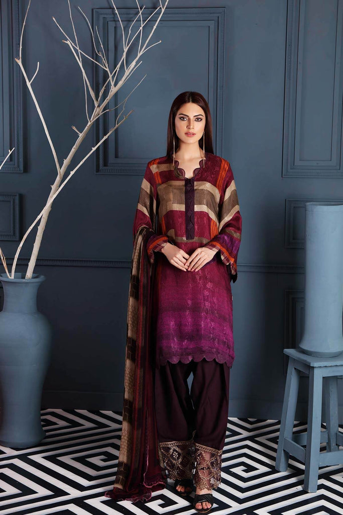 Charizma Combinations Embroidered Linen Collection – Grace CCW-03