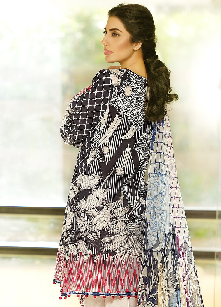 Crescent Lawn Spring/Summer Collection 2016 by Faraz Manan – CL06 - YourLibaas  - 1