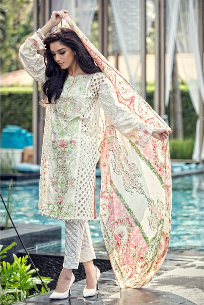 Maria.B Lawn Collection 2016 – 01A - YourLibaas