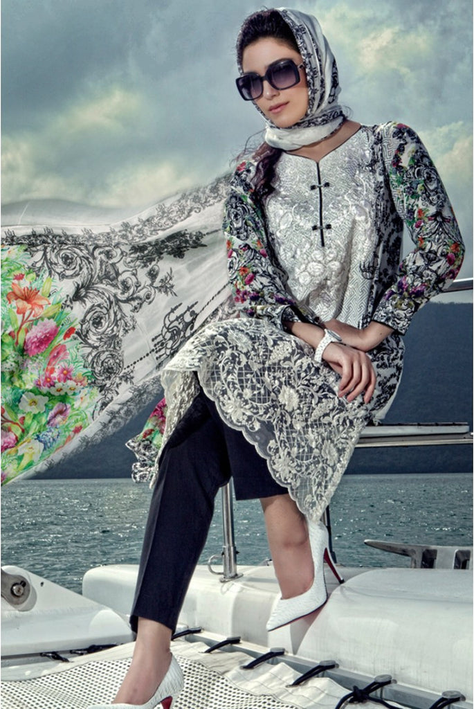 Maria.B Lawn Collection 2016 – 04A - YourLibaas
