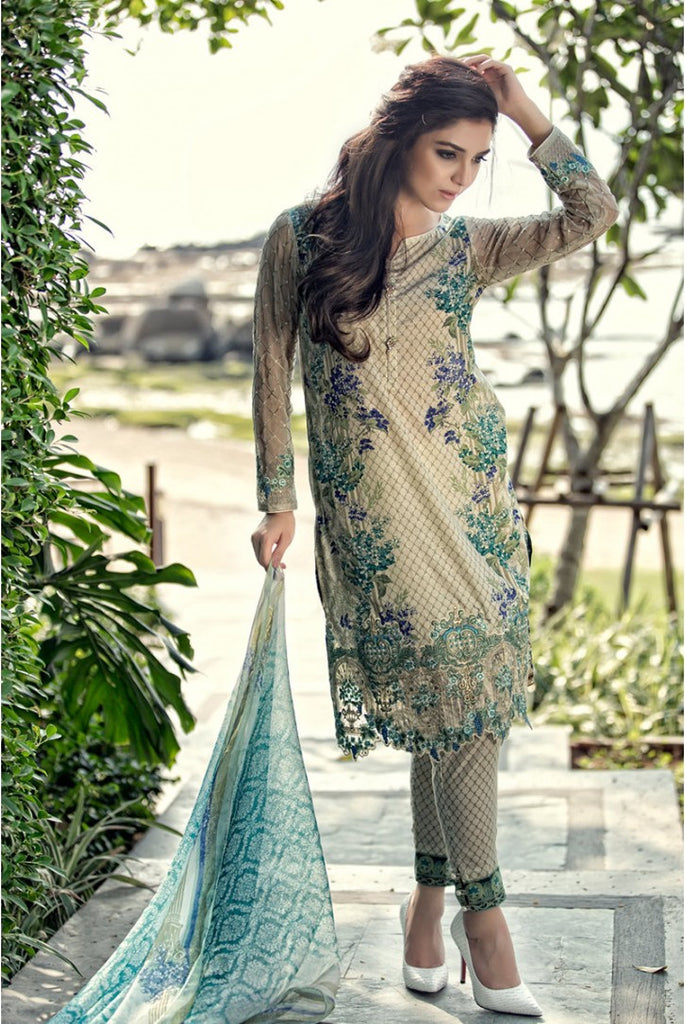 Maria.B Lawn Collection 2016 – 05B - YourLibaas  - 1