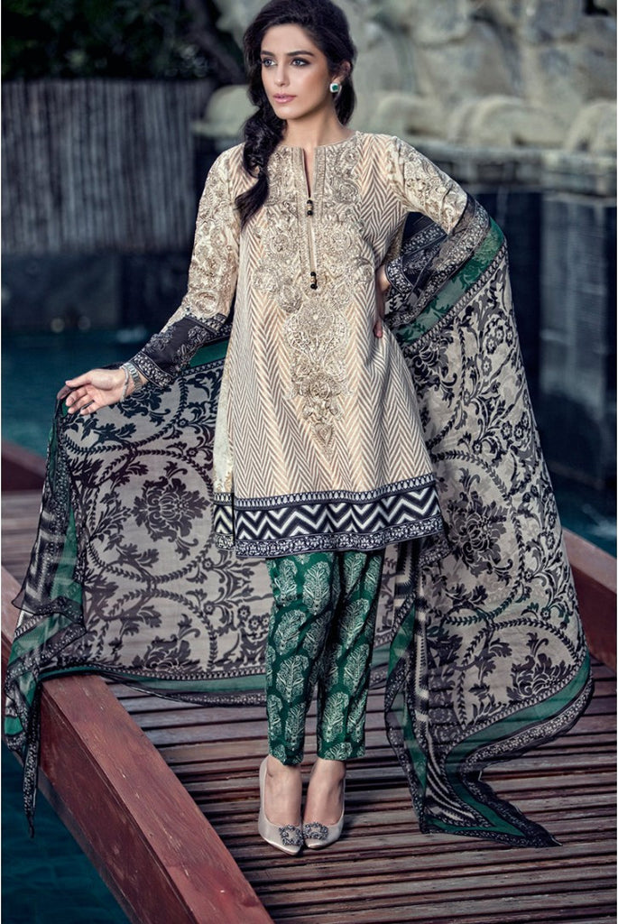 Maria.B Lawn Collection 2016 – 07B - YourLibaas  - 1
