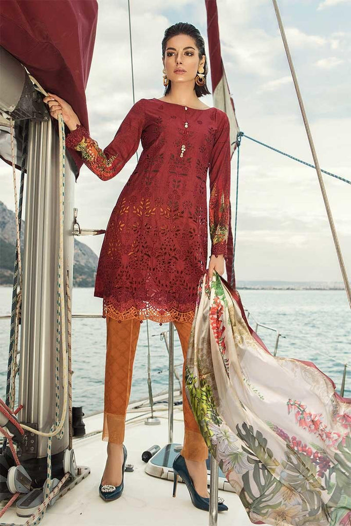 MARIA.B. Voyage Á Luxe Spring/Summer Lawn Collection 2019 – 1906-A