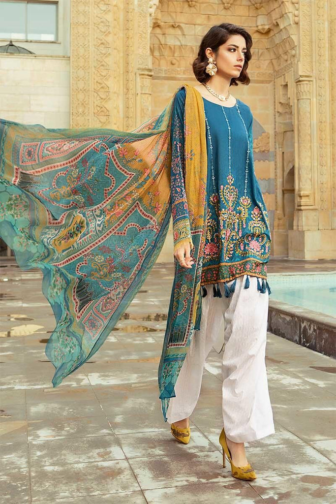 MARIA.B. Voyage Á Luxe Spring/Summer Lawn Collection 2019 – 1912-B