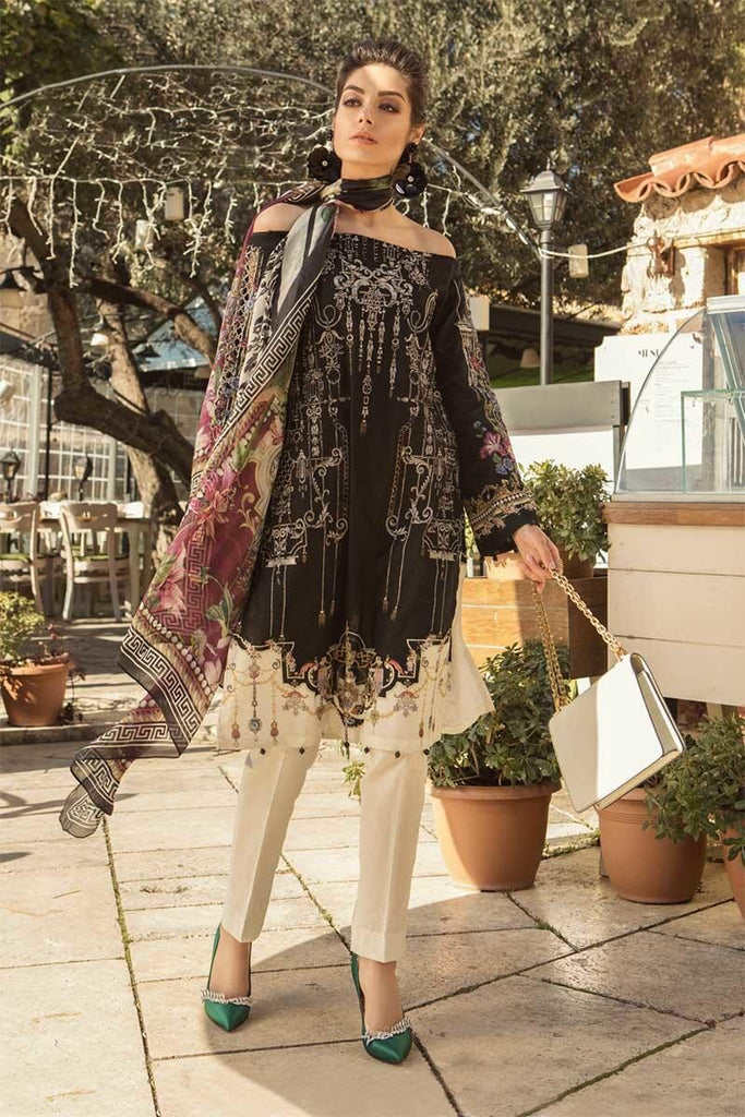 MARIA.B. Voyage Á Luxe Spring/Summer Lawn Collection 2019 – 1914-A
