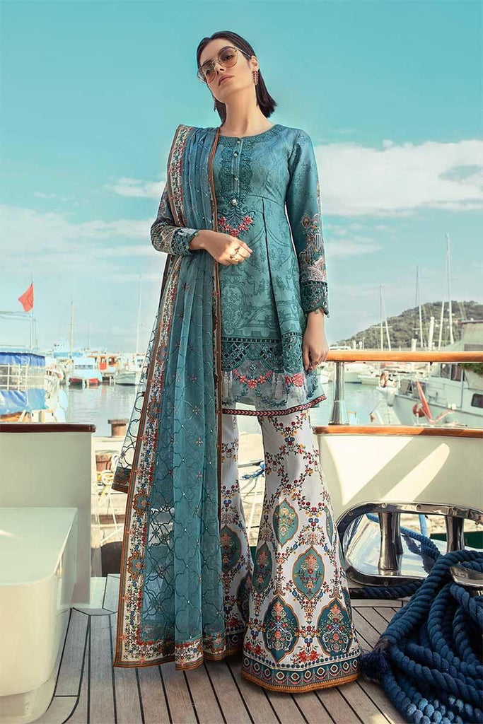 MARIA.B. Voyage Á Luxe Spring/Summer Lawn Collection 2019 – 1915-A