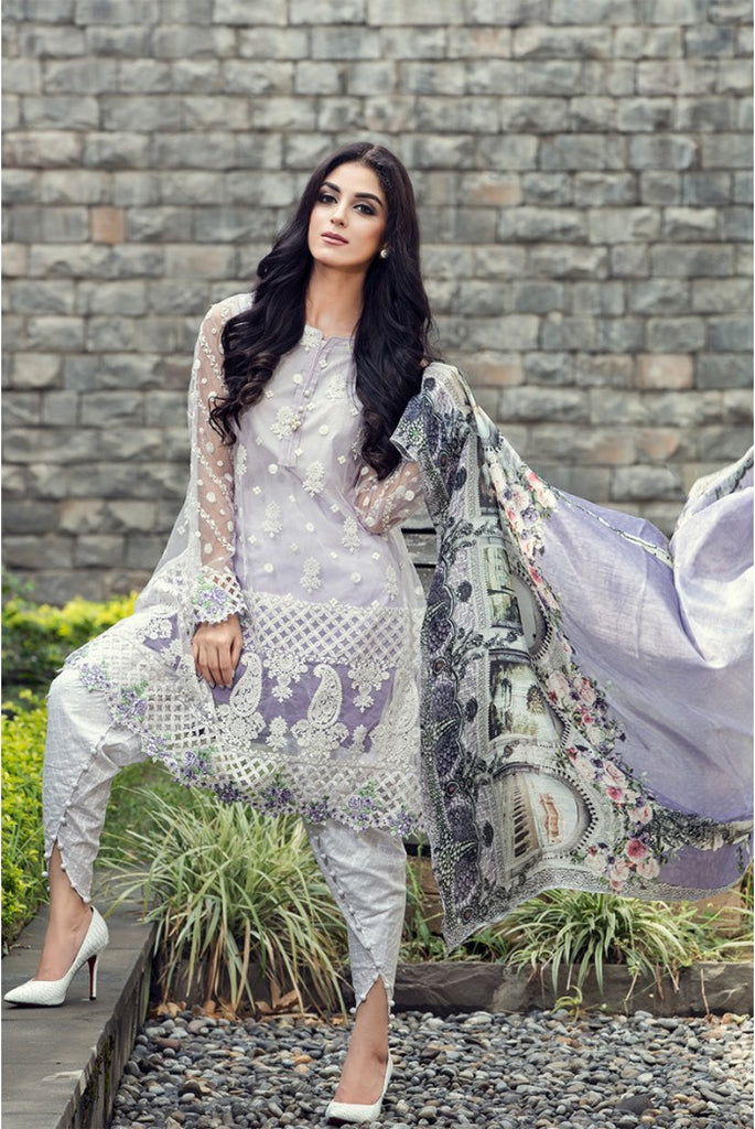MARIA.B EID Lawn Collection '16 – Lilac D-303 - YourLibaas