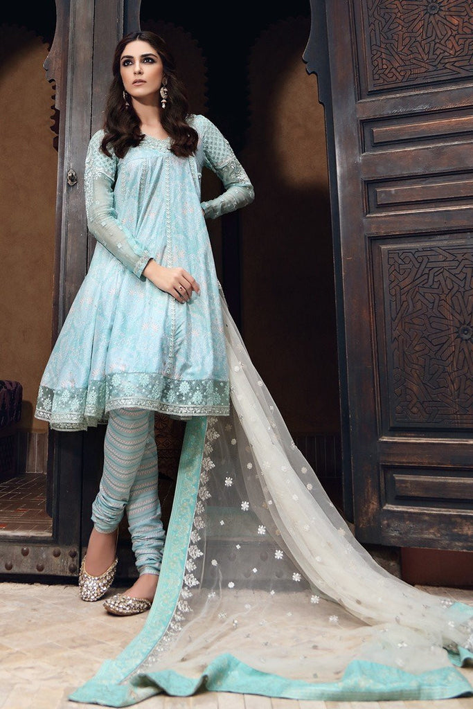MARIA.B Eid Lawn Collection 2017 – D-403 Sea Green