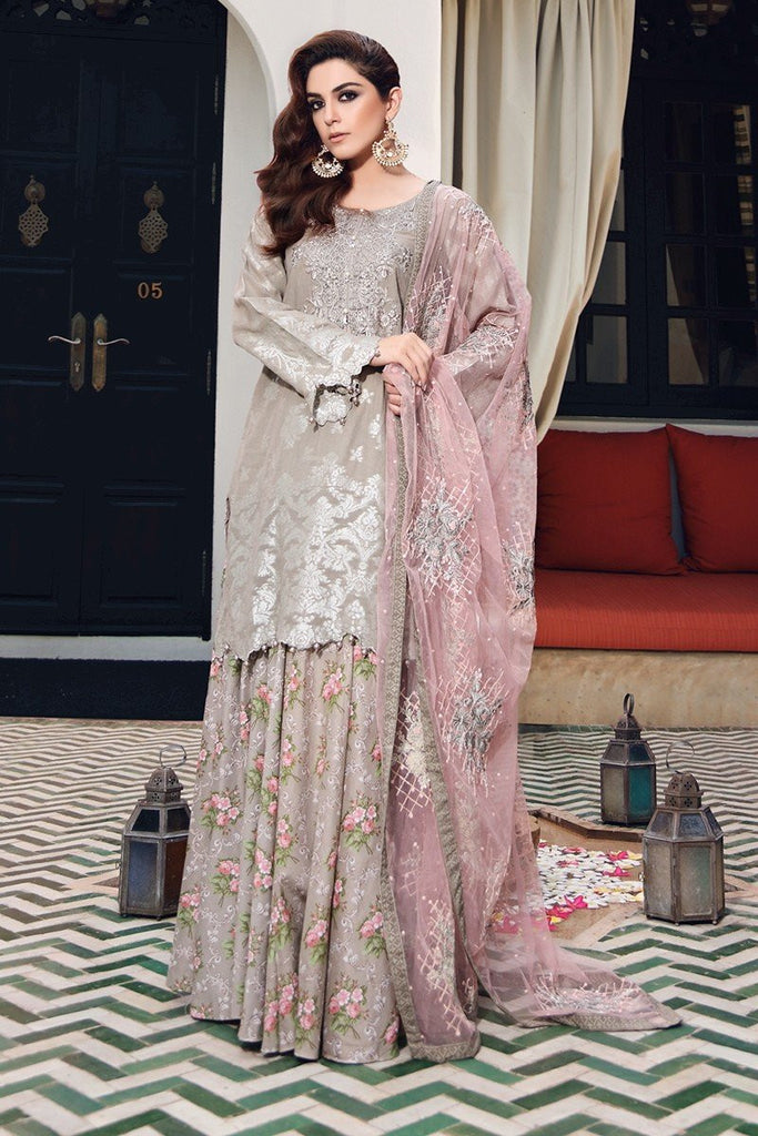 MARIA.B Eid Lawn Collection 2017 – D-407 Grey