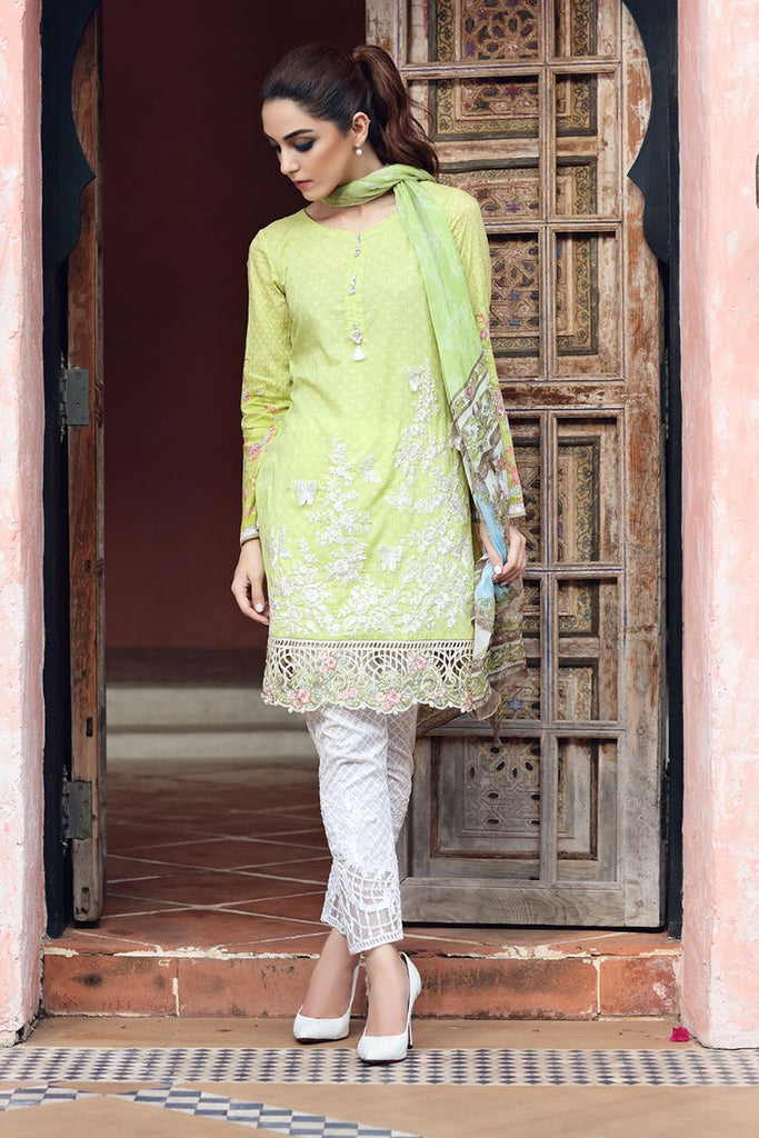 MARIA.B Eid Lawn Collection 2017 – D-410 Green