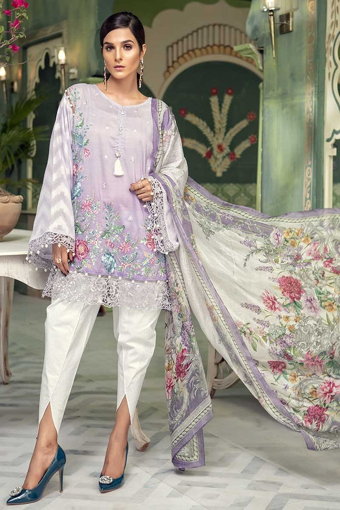 MARIA.B. Eid Lawn Collection 2018 – D-503 Lilac