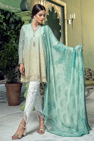 cd5c37d9c3 29% OFF Sold Out MARIA.B. Eid Lawn Collection 2018 – D-510 Sea Green