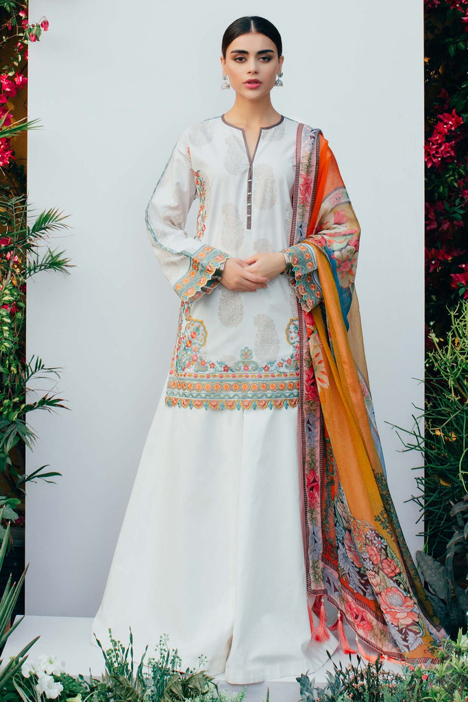 Zara Shahjahan Spring/Summer Lawn Collection 2018 – Falak D-ZSJ04