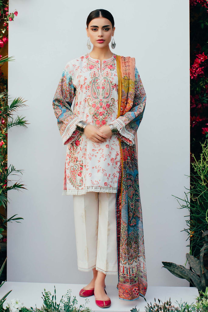 Zara Shahjahan Spring/Summer Lawn Collection 2018 – Afreen D-ZSJ08