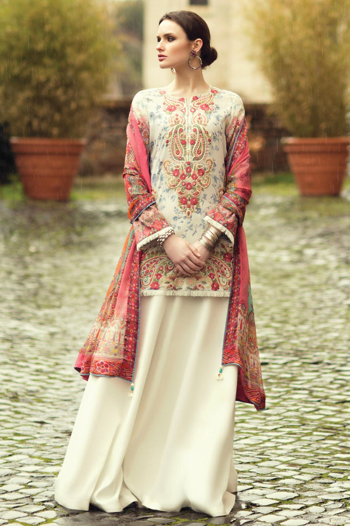 Zara Shahjahan Spring/Summer Lawn Collection 2018 – Afreen ZSJ08