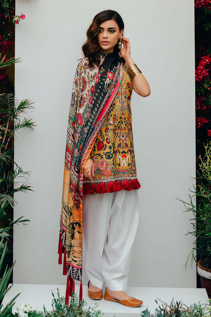 Zara Shahjahan Spring/Summer Lawn Collection 2018 – Amal D-ZSJ10