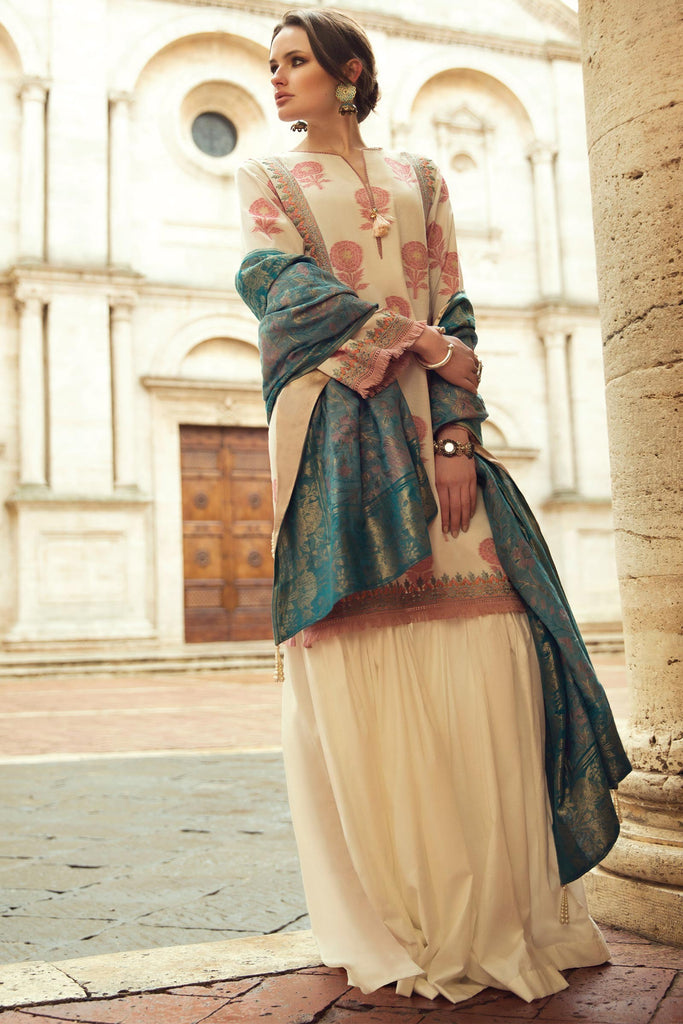 Zara Shahjahan Spring/Summer Lawn Collection 2018 – Mehnaz ZSJ13