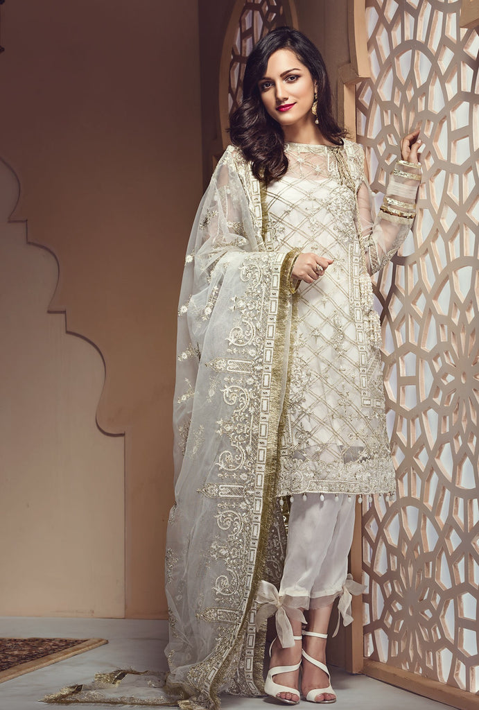Zareen Festive Eid Collection by Imperial – D01 Pearl White
