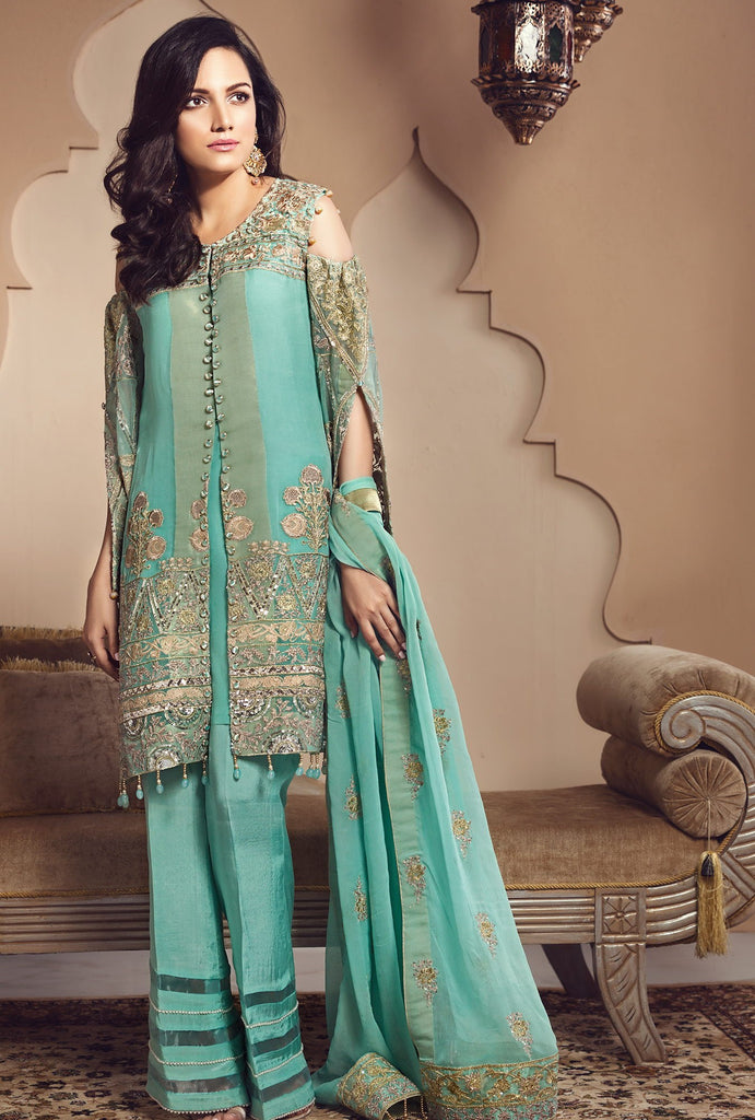Zareen Festive Eid Collection by Imperial – D03 Turquoise