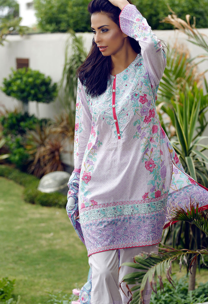 Adamjee Lawn Festive Mid-Summer Collection 2016 – Design 11 - Gypsy - YourLibaas  - 1