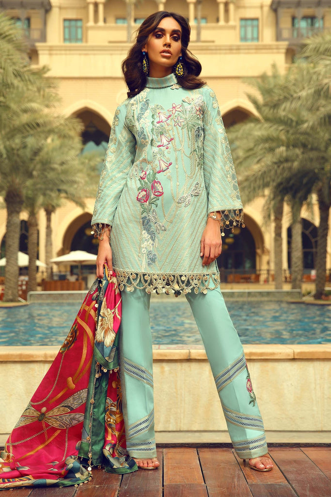 Faraz Manan Luxury Eid Collection 2018 – Design 03
