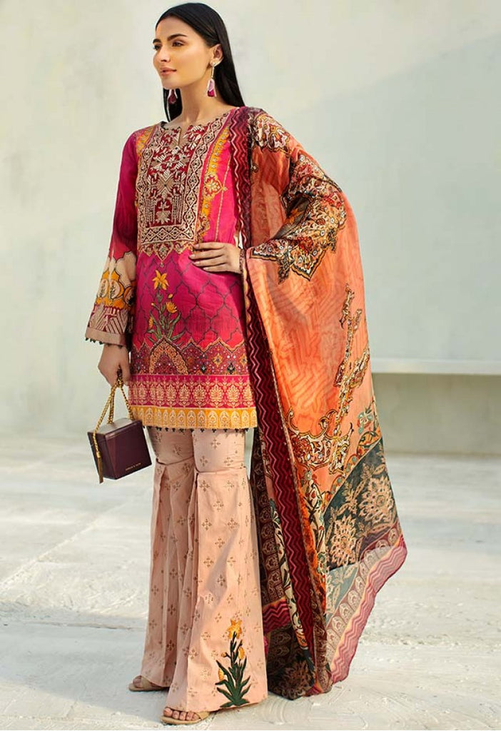 AUJ Spring/Summer Lawn Collection 2018 – Design 02