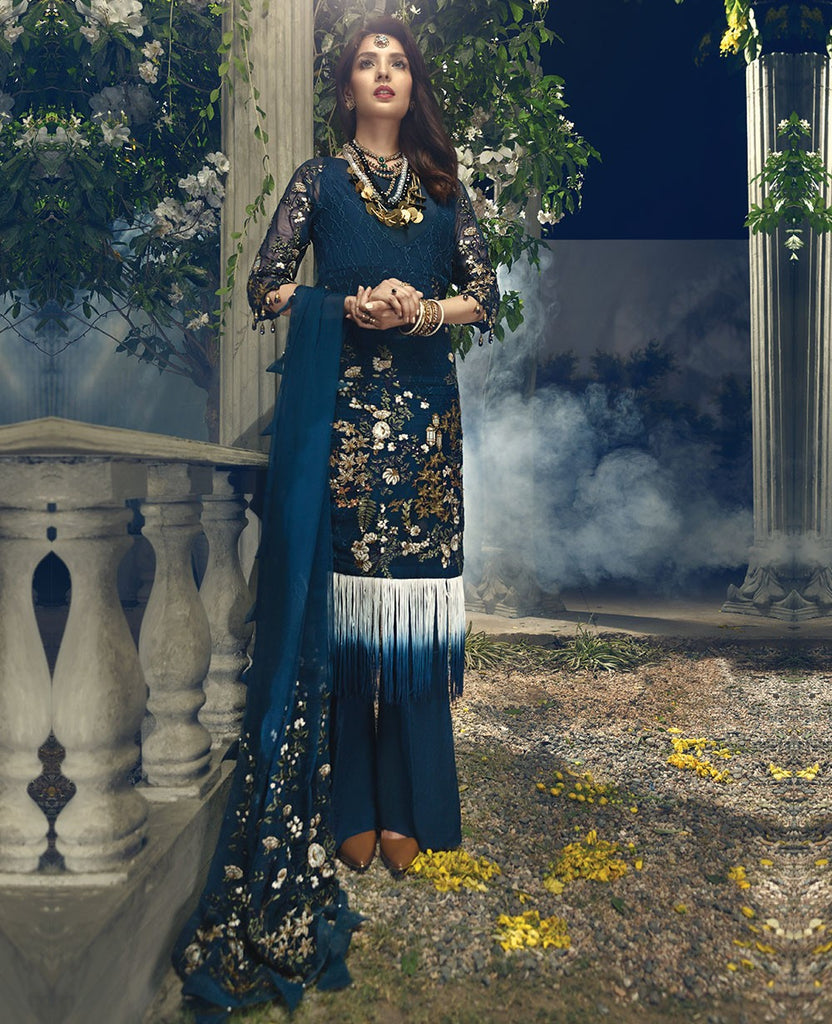 Ittehad Regal Festive Collection 2018 – Deep Sea