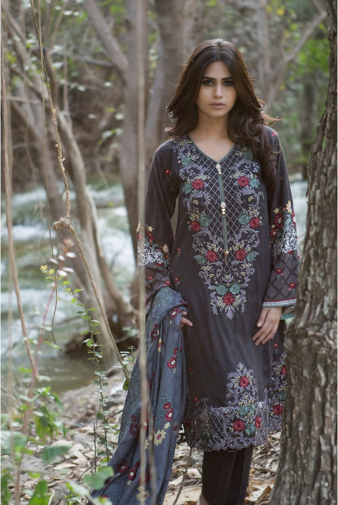 Maria.B Linen Embroidered Collection 2015 - 302 - YourLibaas  - 1
