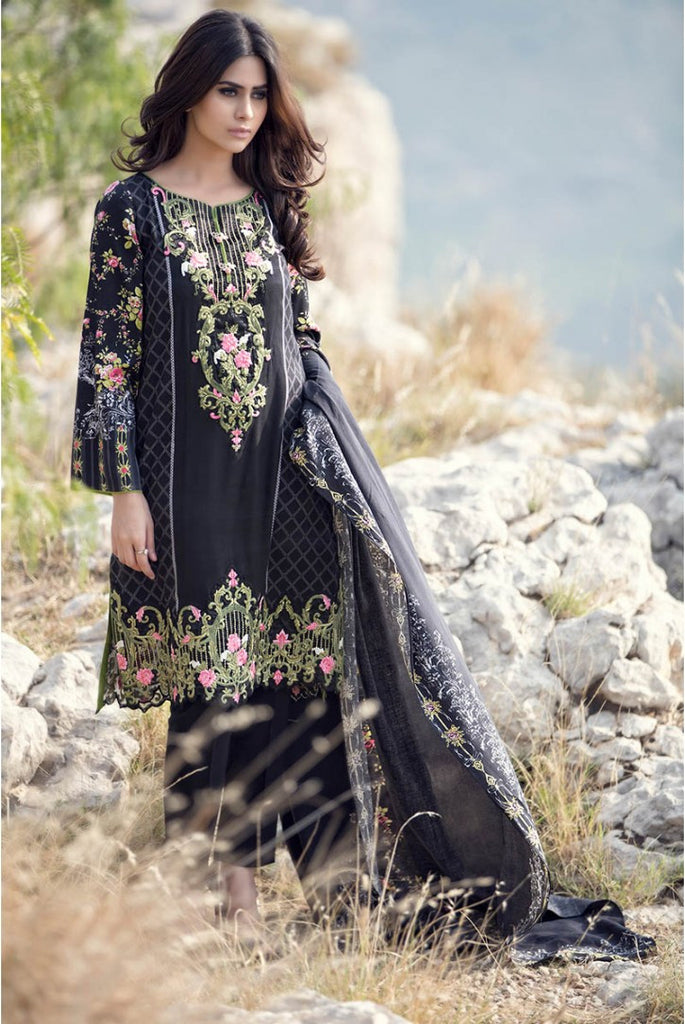 Maria.B Linen Embroidered Collection 2015 - 303 - YourLibaas  - 1