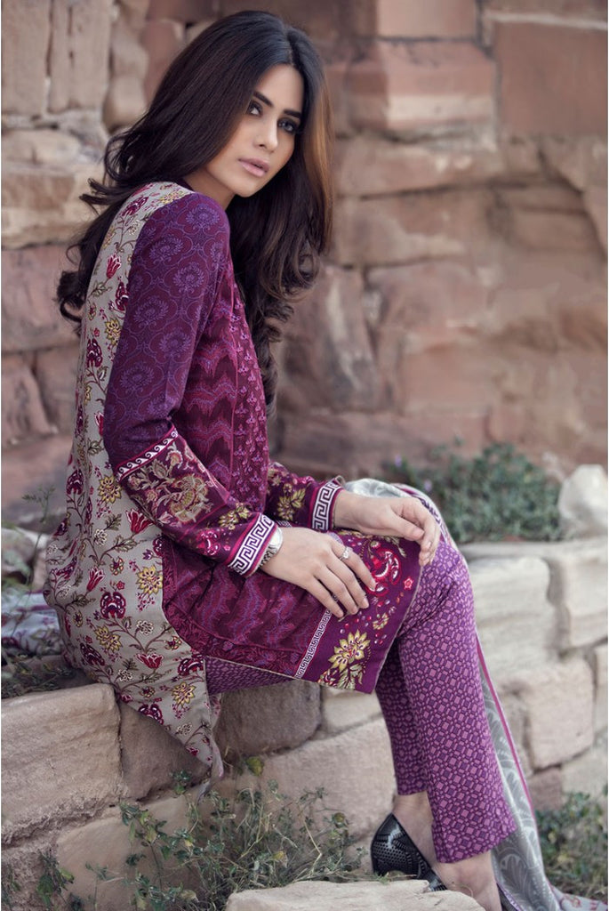 Maria.B Linen Embroidered Collection 2015 - 308 - YourLibaas  - 1