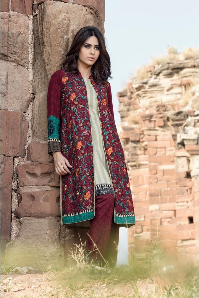 Maria.B Linen Embroidered Collection 2015 - 309 - YourLibaas  - 1
