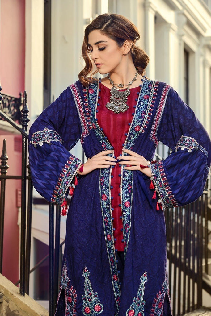 MARIA.B. Linen Winter Collection 2017 – DL-511 Blue