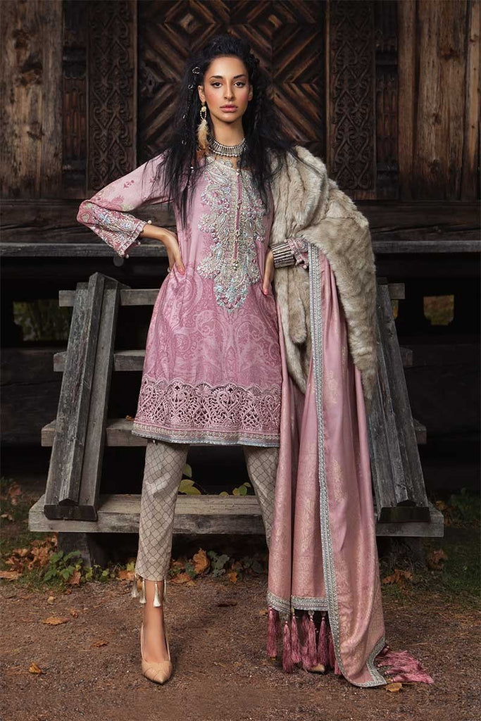 MARIA.B. Linen Winter Collection 2018 – DL-603-Ash Pink