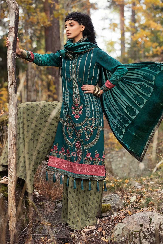MARIA.B. Linen Winter Collection 2018 – DL-604-Sea Green