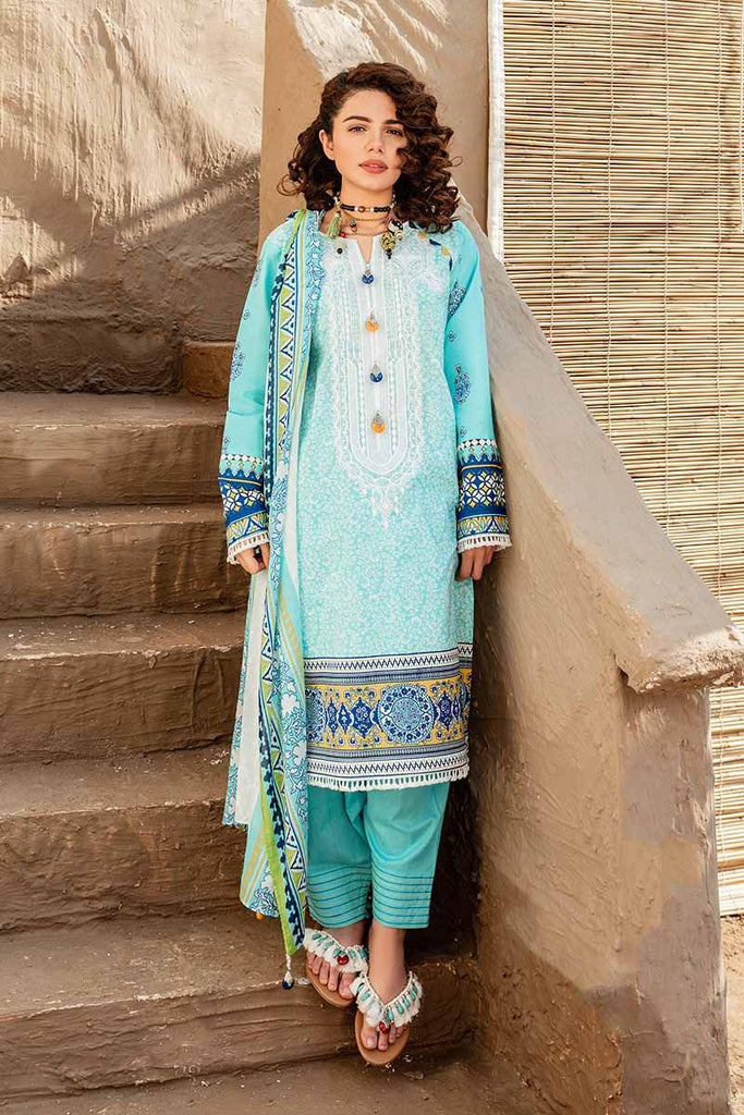 Gul Ahmed Summer 2020 – Halla Pottery – 3PC Printed Lawn Suit CL-929