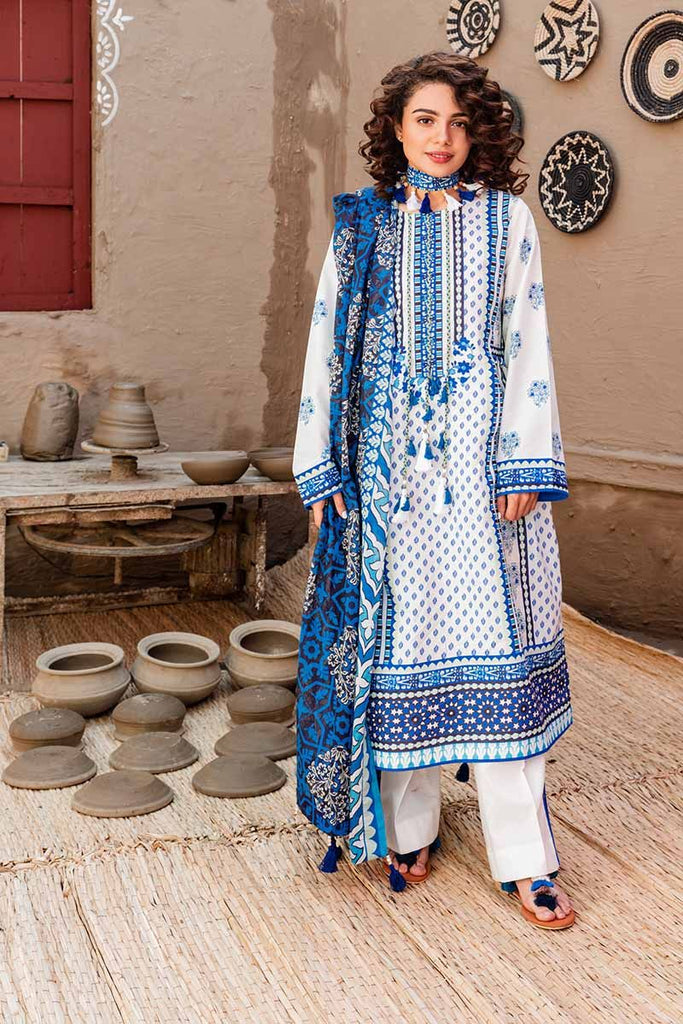 Gul Ahmed Summer 2020 – Halla Pottery – 3PC Digital Printed Lawn Suit CL-926