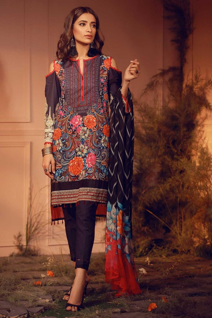 Khaadi Luxury Collection 2018 – E18203 Black
