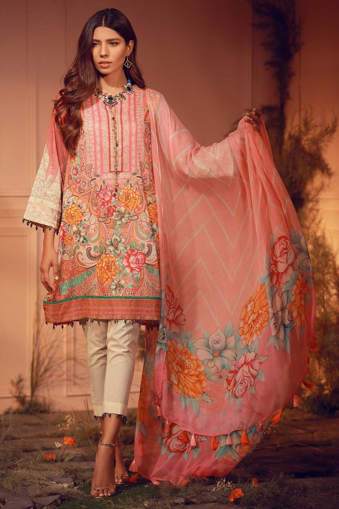 Khaadi Luxury Collection 2018 – E18203 Pink