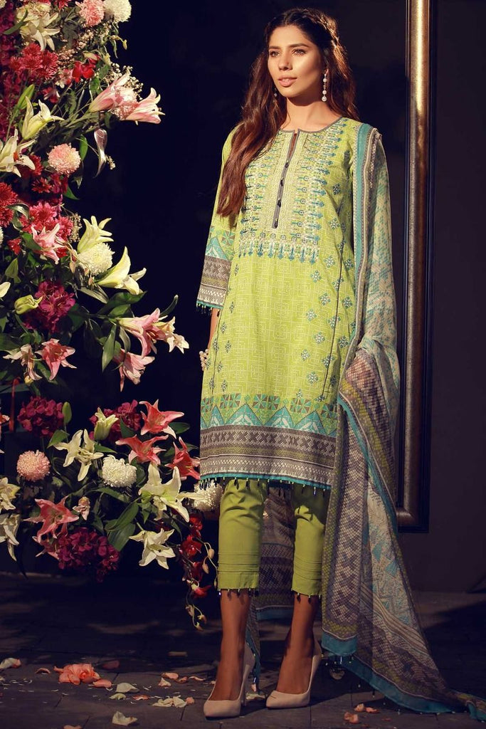 Khaadi Luxury Collection 2018 – F18202 Green