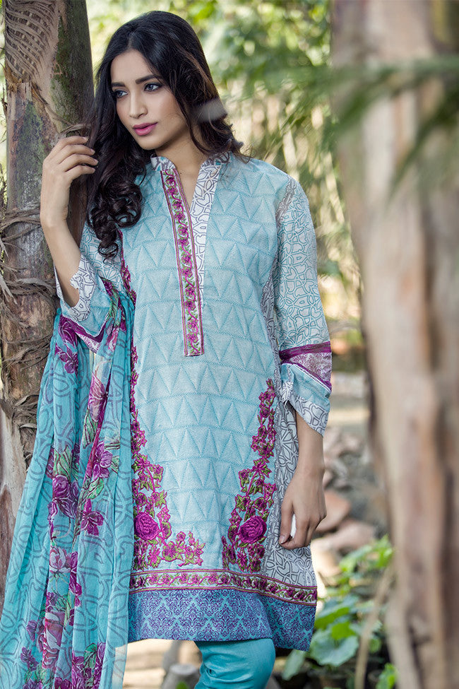 Gulaal Lawn Collection Volume 1 – Iris Dream GL-06 - YourLibaas  - 1