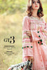 Gul Ahmed Gypsy Folk Lawn Collection - Baby Pink 2 Pc Embroidered Blended Chiffon GT-03