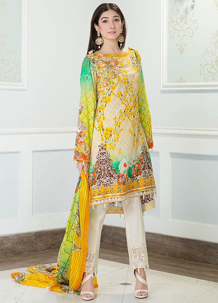 Iznik Luxury Lawn Festival Collection 2017 – Radiant Blossom