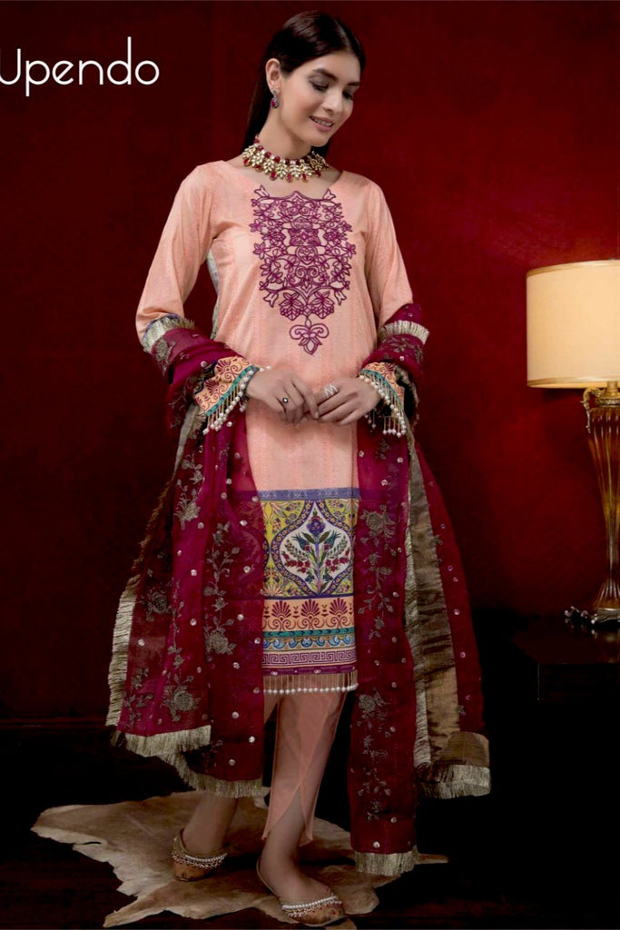 Hina Shah Luxury Lawn Collection – Upendo HS-11