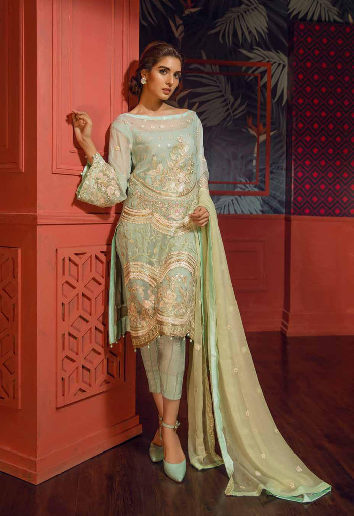 Eshaal Embroidered Luxury Chiffon Collection Vol-2 by Emaan Adeel – EA04
